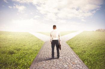 Escolha de caminhos