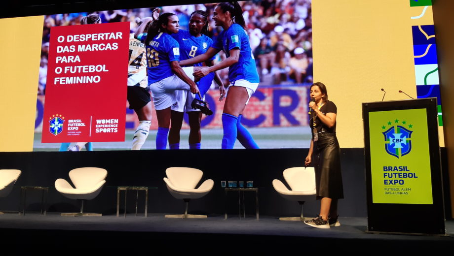 Futebol Feminino - Palestra com Mônica Esperidião