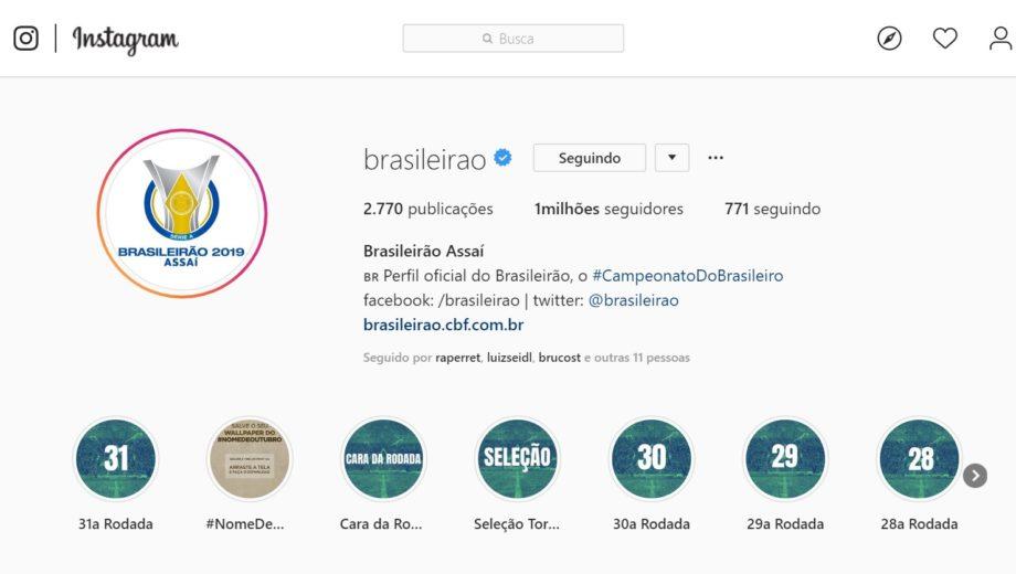 Instagram - Brasileirão - Feng